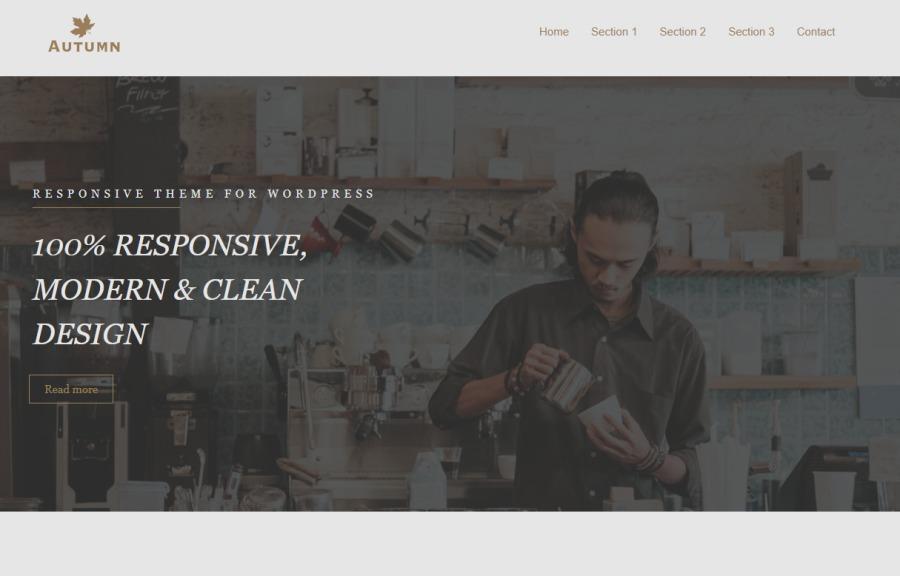 RESPONSIVE THEME FOR WORDPRESS  100% RESPONSIVE, MODERN & CLEAN DESIGN