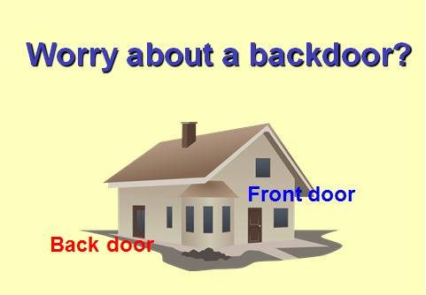 Inconvenience behind Convenience of BiometricsWorry about a backdoor?
