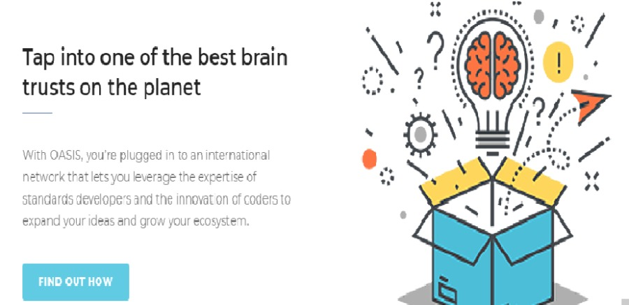 OASIS Open Projects & Expanded Password SystemTap into one of the best brain<br /> trusts on the planet