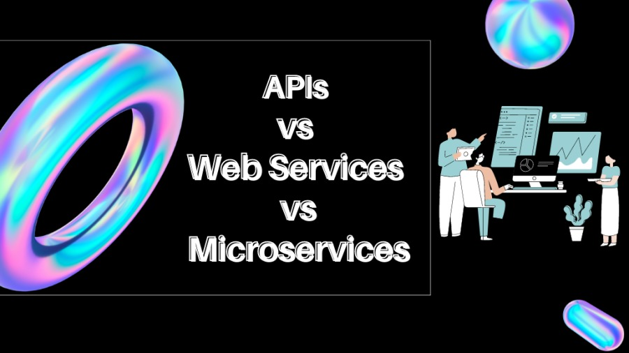 What Are APIs, Web Services and Microservices?PAP Jd =  1 Microservices