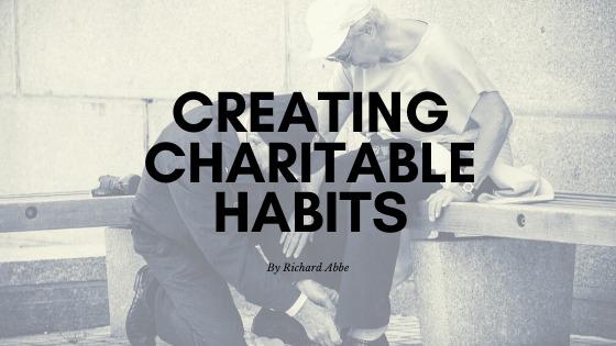 CREATING CHARITABLE HABITS  By Ruan 49c