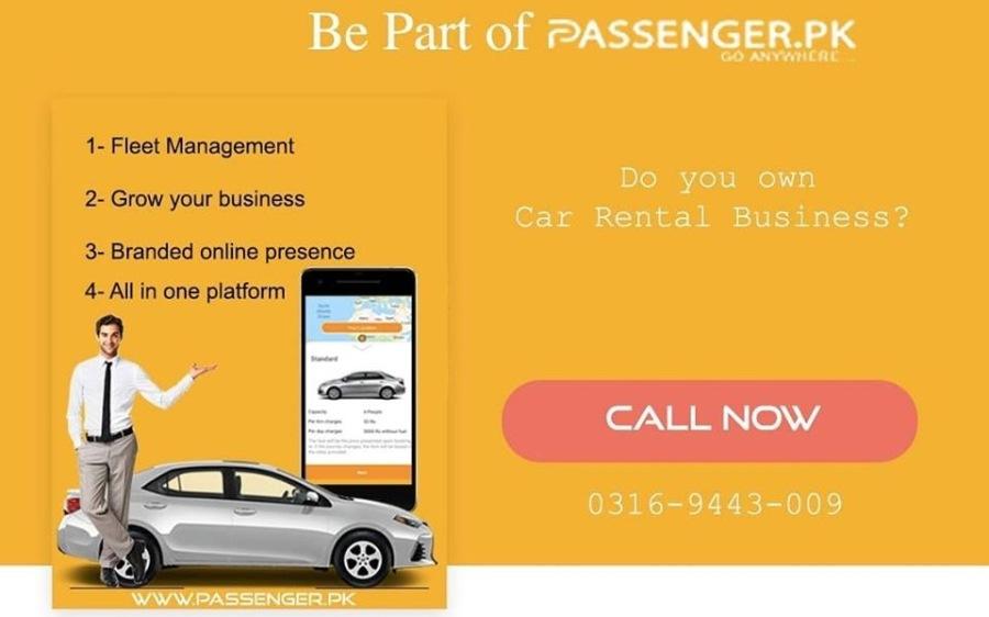 Meet Passenger App1- Fleet Management<br /> 2- Grow your business<br /> <br /> 3- Branded online presence<br /> <br />     <br /> <br /> 4- All in one platform