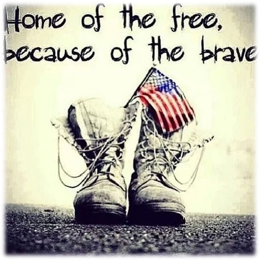 """""""Who more than self their country loved""""Home of the free,"""