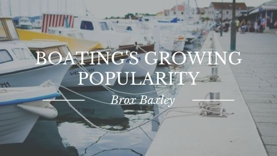 Boating's Growing Popularity