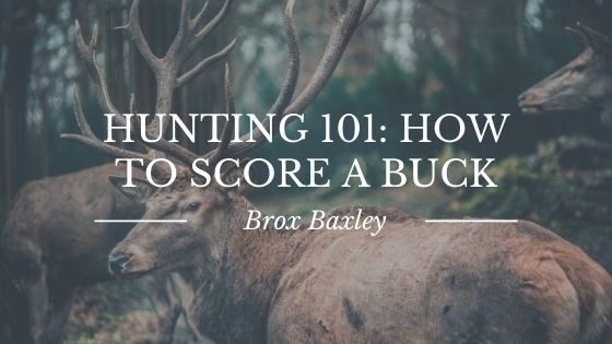 Hunting 101: How to Score a Buck