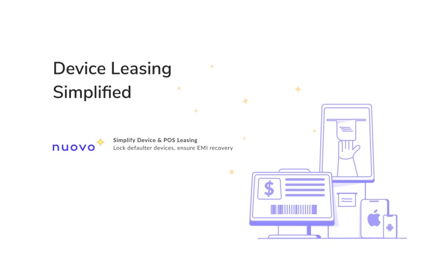 Device Leasing  Simplified [ 1 Il =| il Sint Device & POS ering [ : NUOVO Lot testes beeen cme 00 recaers {Imm | = |  | | | amine