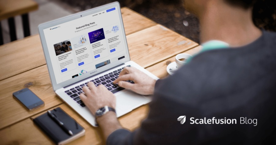 « x 4 Scalefusion Blog \