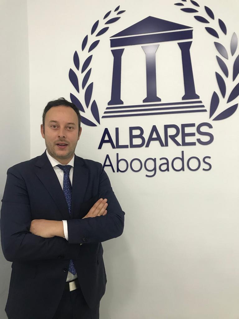 Pedro Albares Castejón, abogado fundador y director de Albares Abogados