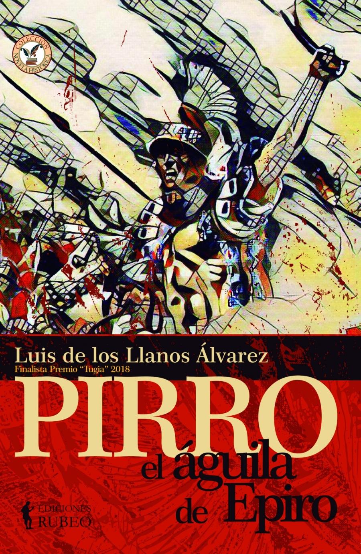 """5  Ue  3)     \Y  2 RG & 7 bh '  Luis 13 los Llanos Alvarez inalist » """"Tugia"""" 2018  nalista Premic  PIRRO"""