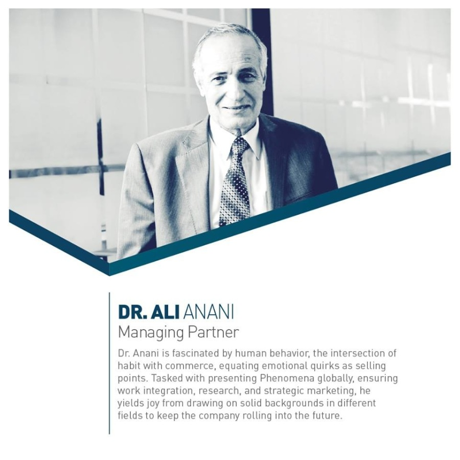 Did you say thank you to your teacher?DR. ALI ANANI<br /> <br /> Managing Partner
