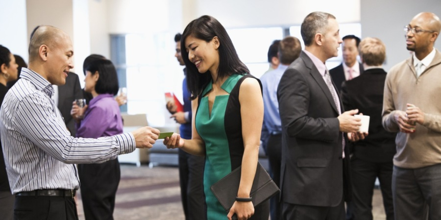 Networking: Meet and Mingle! Get yourself out there!