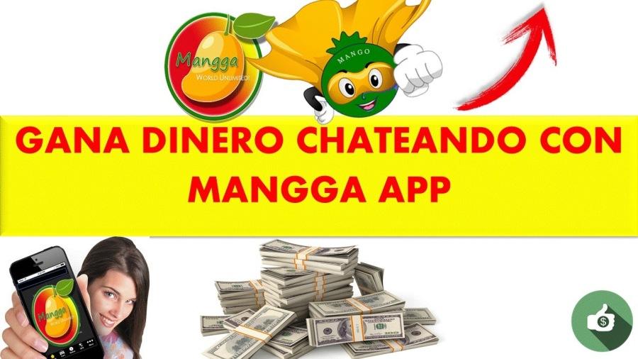 GANA DINERO CHATEANDO CON MANGGA APP