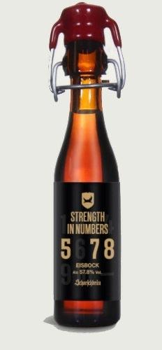 ¡Qué fuerte...:57,8º de cerveza!