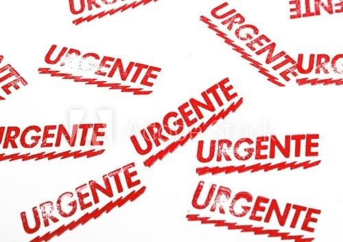 ¡Urgente!eu RC on Lore  RGENTE $& on  ats Une wa