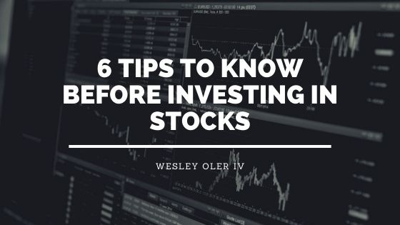6 Tips to Know Before Investing in Stocks