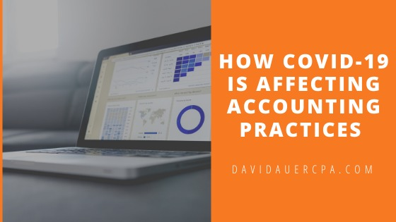 How COVID-19 is Affecting Accounting Practices