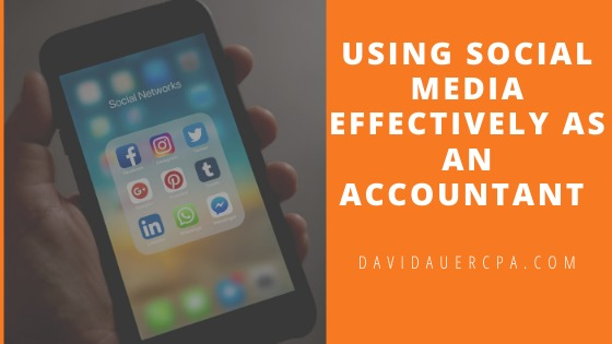 Using Social Media Effectively As An Accountant