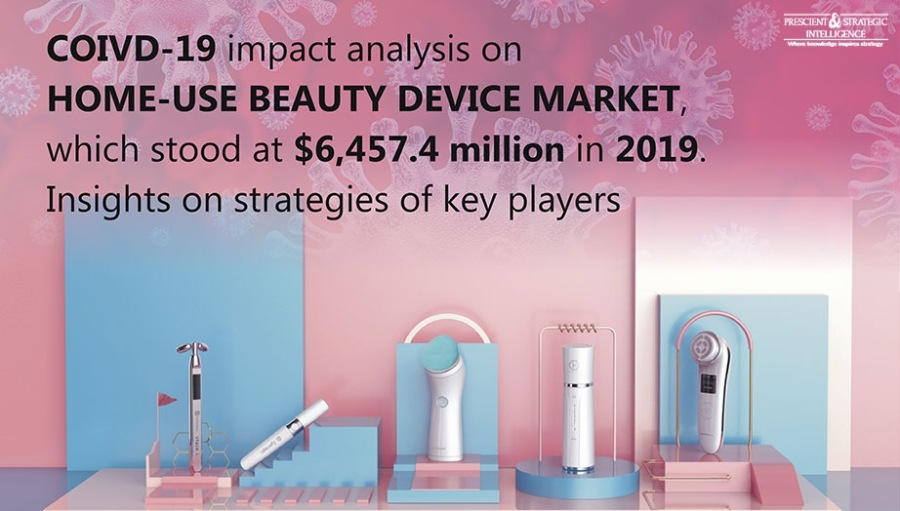 Demand for Home-Use Beauty Devices Set to Boom in Asia-Pacific in FutureCOIVD-19 impact analysis on HOME-USE BEAUTY DEVICE MARKET, which stood at $6,457.4 million in 2019. Insights on strategies of key players