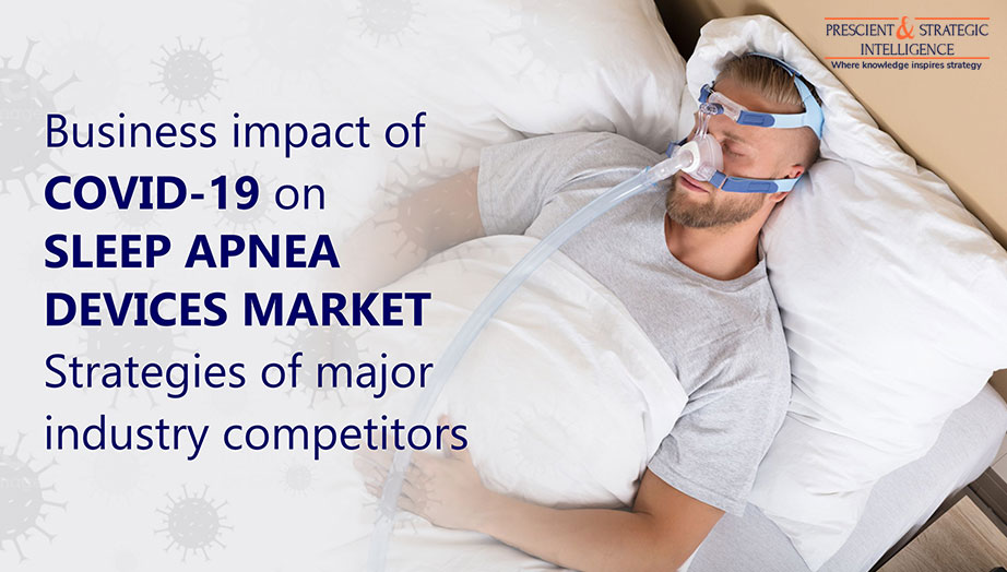 FRESCIENT (i STRATEGIC INTELLIGENCE o  as weer  Business impact of COVID-19 on SLEEP APNEA DEVICES MARKET Strategies of major Z| p industry competitors 4