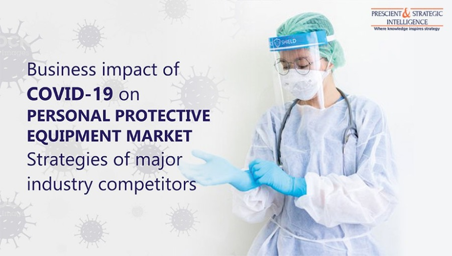 """Personal Protective Equipment Market Set for Prosperity in FuturePa — Business impact of ey COVID-19 on J PERSONAL PROTECTIVE )  EQUIPMENT MARKET A . """" 3 I Strategies of major \ industry competitors"""