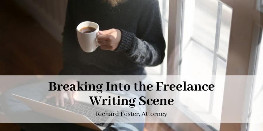 Breaking Into the Freelance Writing Scene