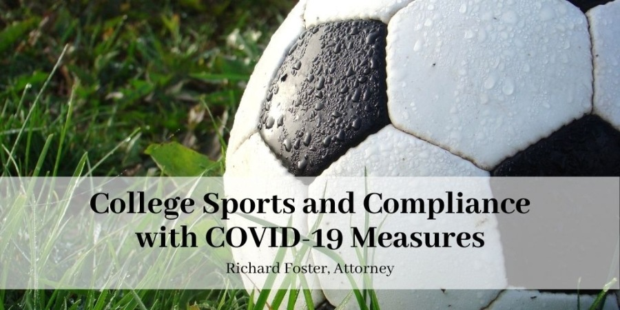 College Sports and Compliance with COVID-19 Measures