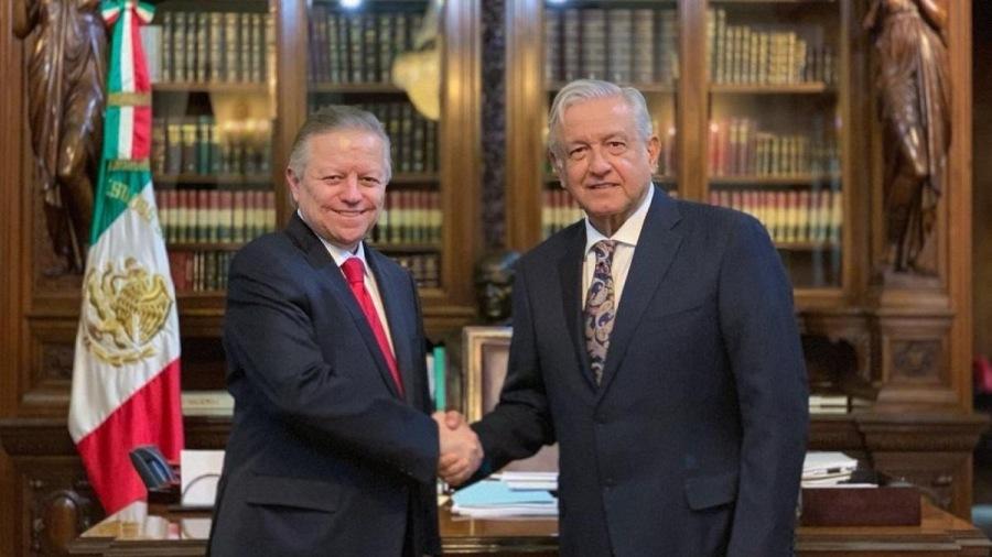 El Ministro Zaldívar y la  <a class=