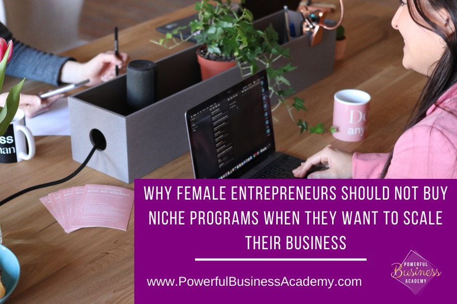 Why Female Entrepreneurs Should NOT Buy Niche Programs When They Want To Scale Their Businesshv. adi      LULA I: ENTREPRENEURS SHOULD NOT BUY ~ NICHE PROGRAMS WHEN THEY WANT TO SCALE THEIR BUSINESS    www.PowerfulBusinessAcademy.com sm  >