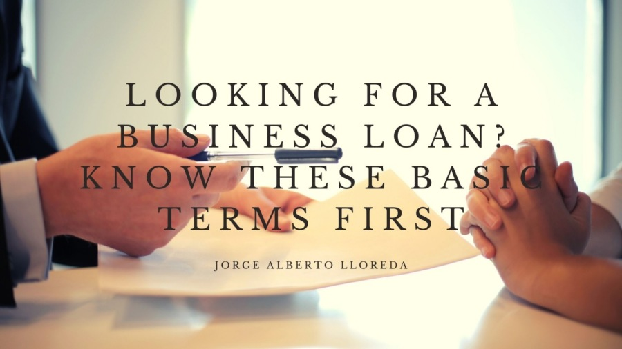 LOOKING FOR A INESS LOAN HESE BA FIRST,  JORGE ALBERTO LLOREDA