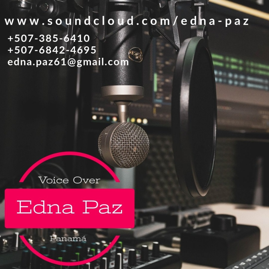 UN EQUIPO CAMPEÒN LO CONFORMAN LOS DEPARTAMENTOS DE VENTAS Y MARKETING.WWW. oN TE  a-paz +507-385-6410 H | +507-6842-4695 fry Yd — edna.pazé61@gmail.c : | mt ta | i HE —     Voice Over |  {| Edna Paz 2 EF pt u | 9 Es w Ay i Es
