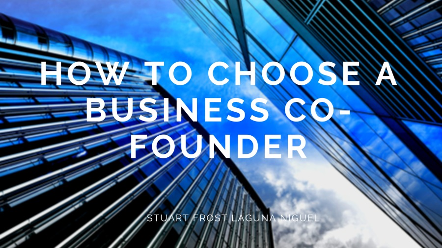 How to Choose a Business Co-founder