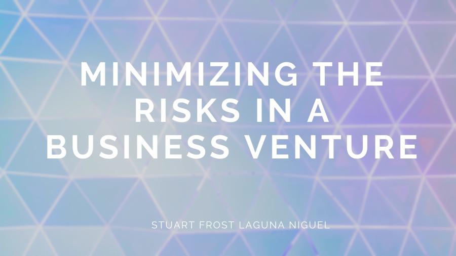 MINIMIZING THE REY CR BUSINESS VENTURE