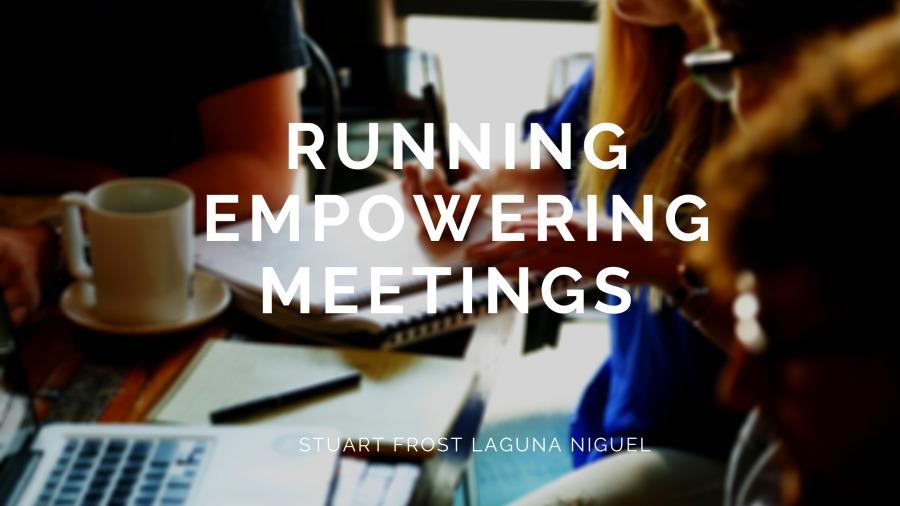 Running Empowering Meetings