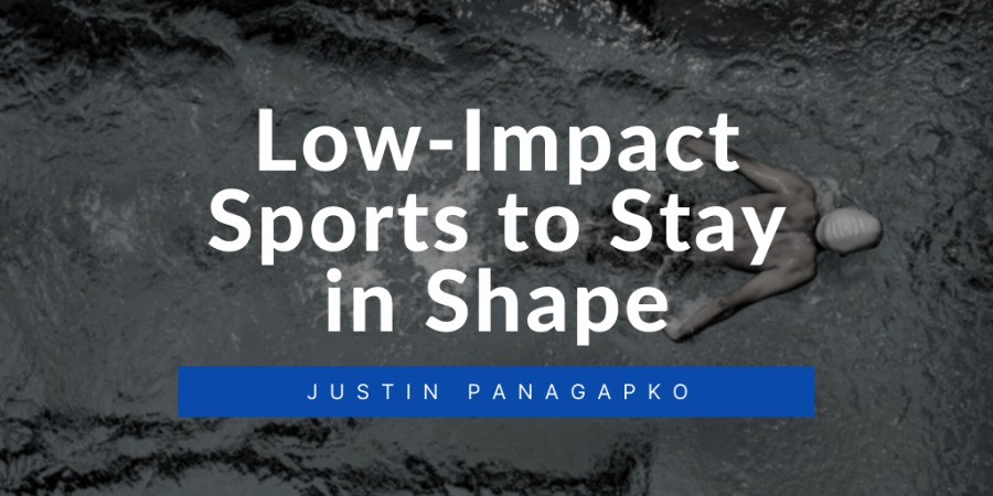 Low-Impact Sports to Stay in SHE:  JUSTIN PANAGAPKDO