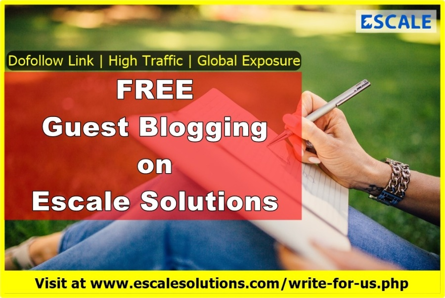 """Become a Free Guest Contributor on Escale Solutions-*  RII Link 