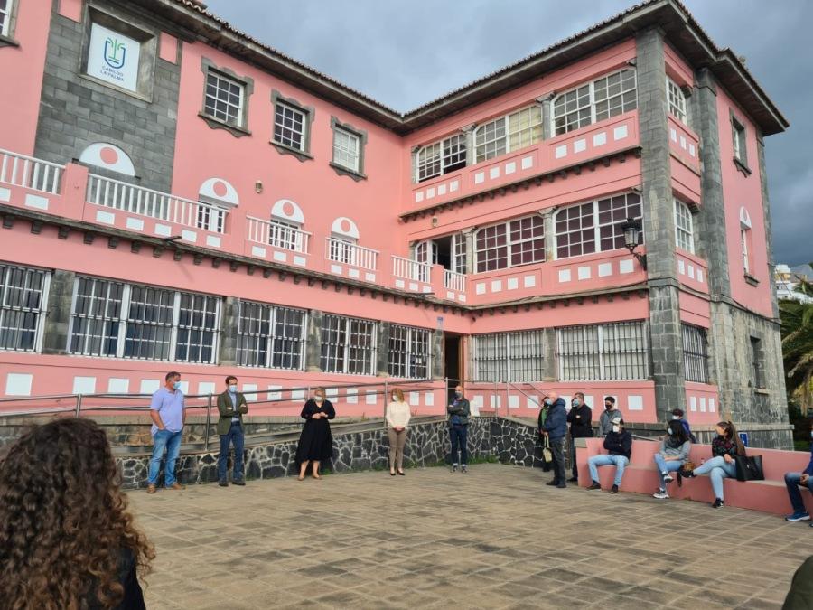 El Cabildo de La Palma contrata a 24 desempleados para luchar contra el cambio climático.