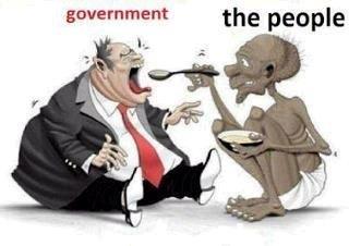 LA PRUEBA IRREFUTABLE DE QUE PARA TODO POLÍTICO EL CIUDADANO ES PREOCUPACIÓN MENORgovernment the people