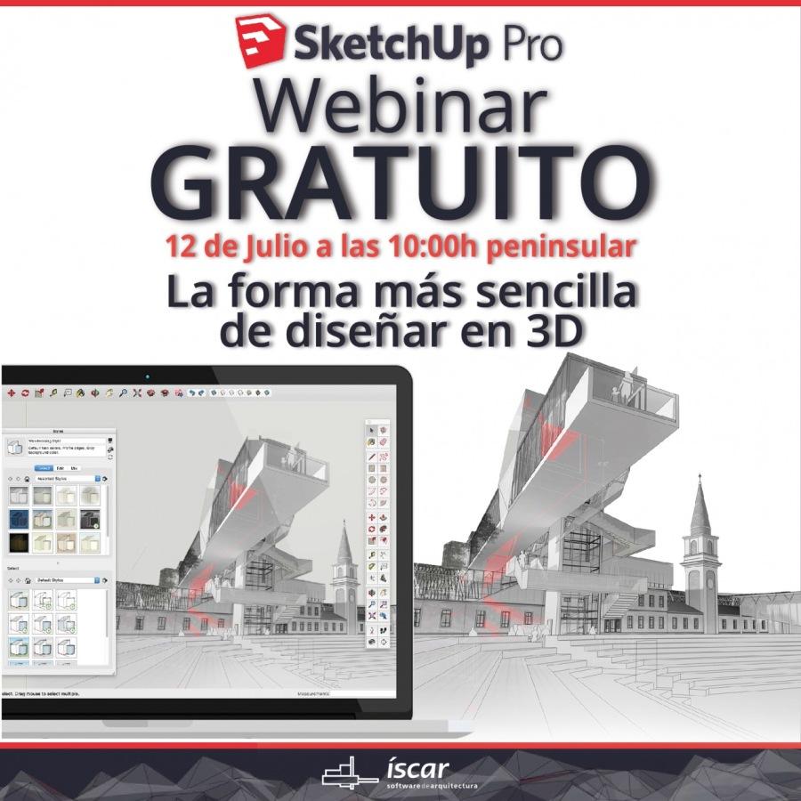 5 SketchUp Pro Webinar  GRATUITO  12 de Julio a las 10:00h peninsular  La forma mas sencilla de diseinar en 3D             Ny . SERIE CN  17 h EE im (oi J ' 1000000 (vere