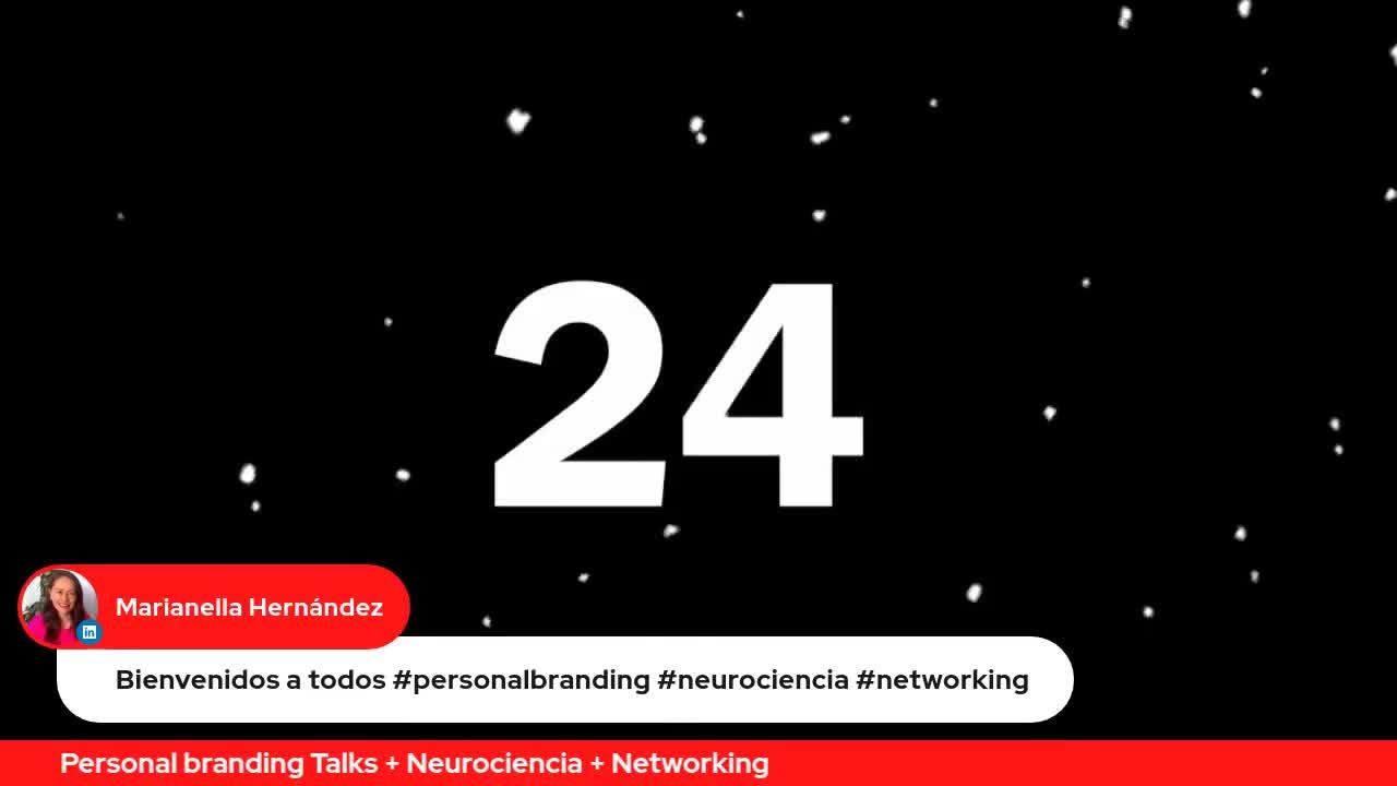 Marianella Hernandez     Bienvenidos a todos #personalbranding #neurociencia #networking     Personal branding Talks + Neurociencia + Networking