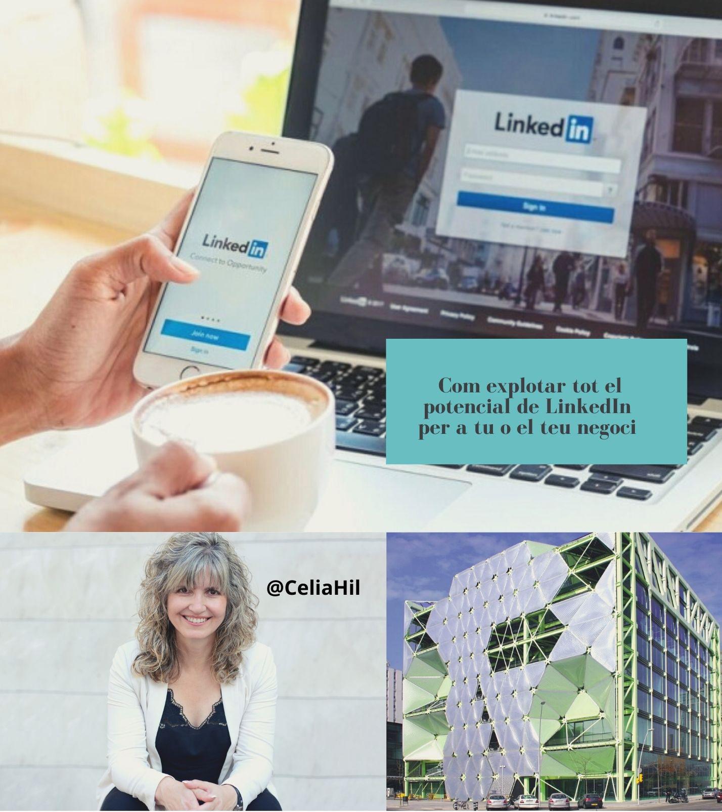 Com explotar tot el potencial de LinkedIn per a tu o el teu negoci  >