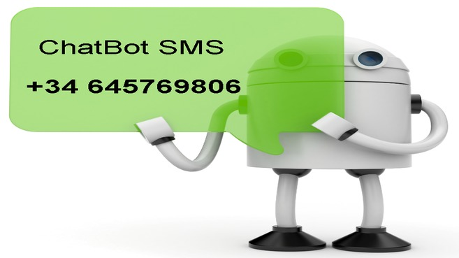 ChatBot SMS         +34 645769806
