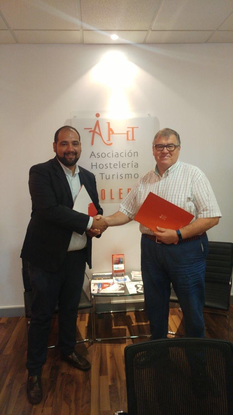 Convenio Vodafone y Asociación de Hostelería y Turismo de Toledo