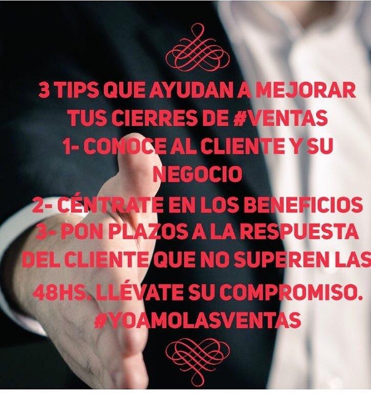 Tres tips que te ayudarán en el cierre