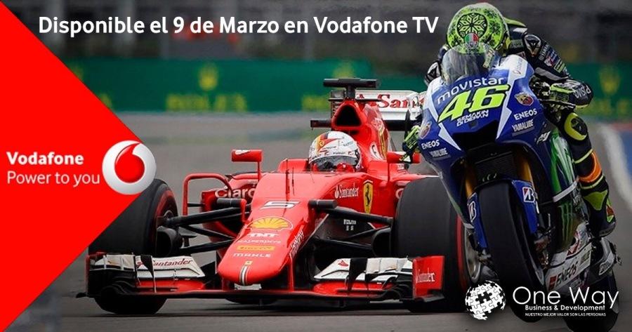 Disponible el 9 de Marzo en Vodafone TV /&: