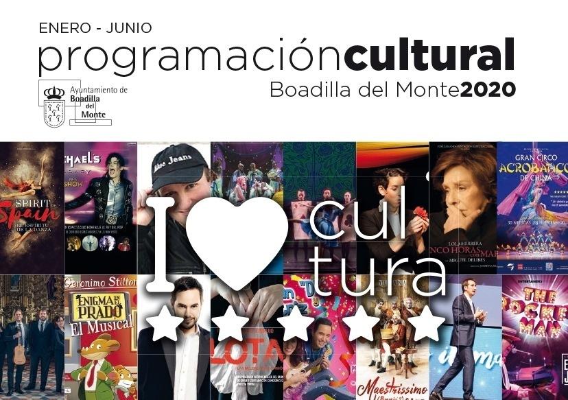 ENERO - JUNIO  programacioncultural  Boadilla del Monte2020  WD gi