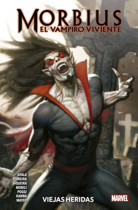 Morbius: Las muchas vidas del vampiro vivientees my  bg  fe fo] foe  fr  VIEJAS HERIDAS  y 4