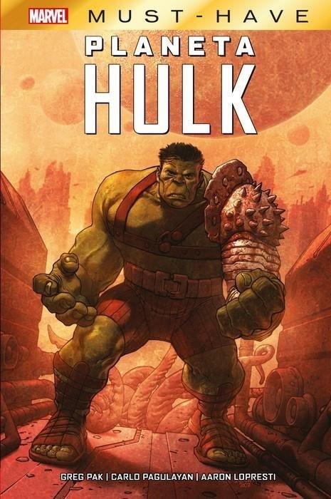 Planeta Hulk: El bárbaro esmeraldaEEE EN FA PCLT
