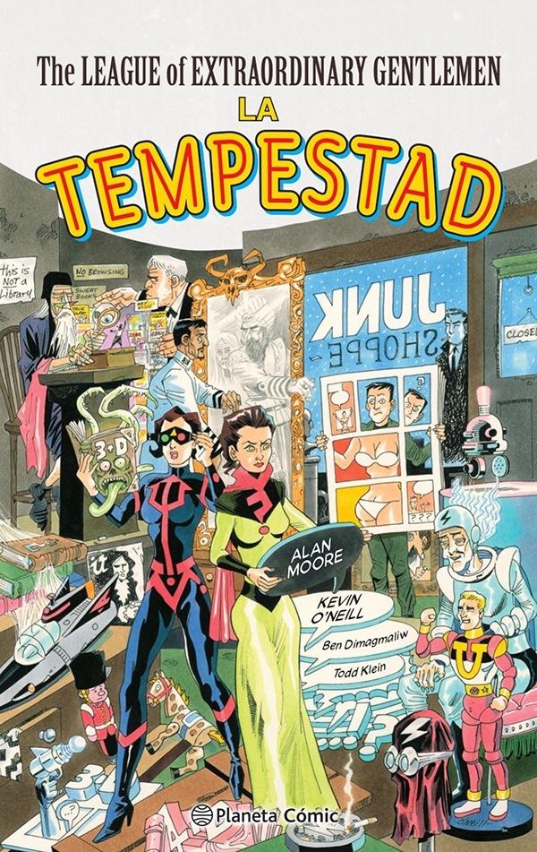 The League of Extraordinary Gentlemen (III): El Tempestuoso Desenlace