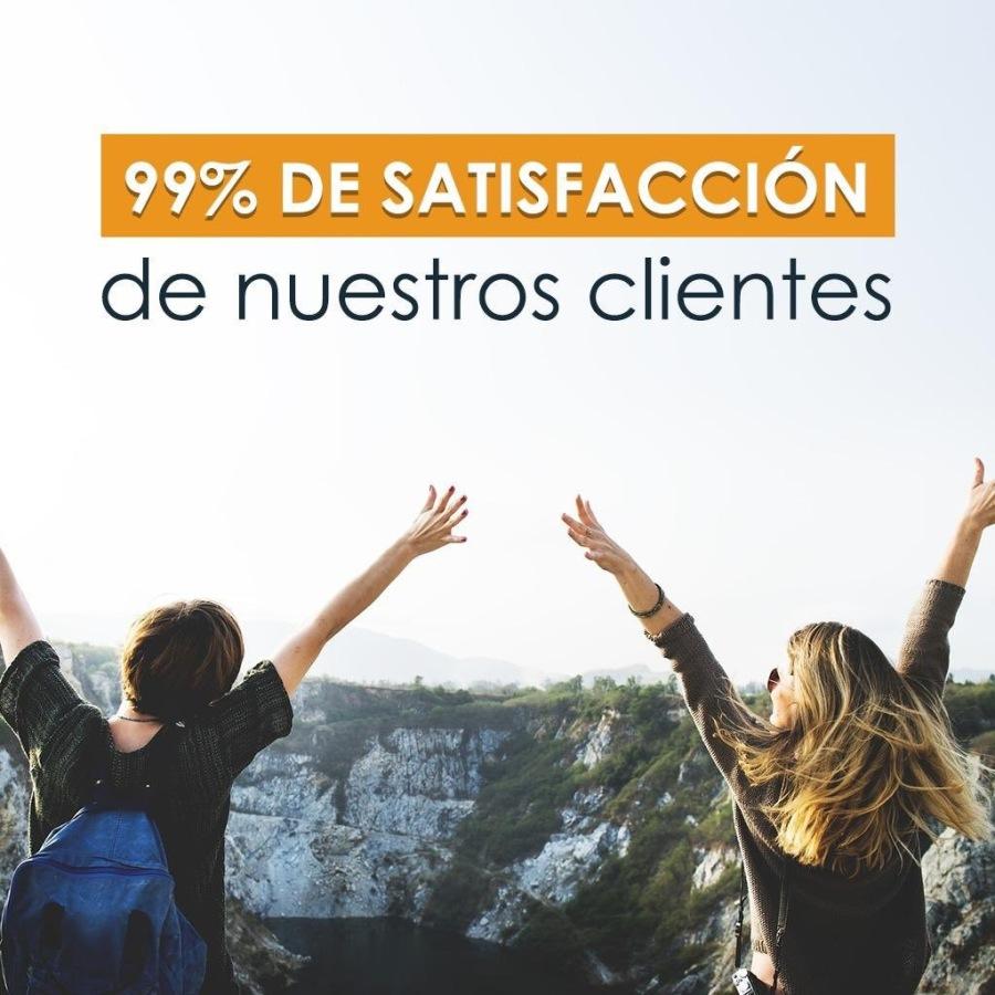 99% DE SATISFACCION  de nuestros clientes