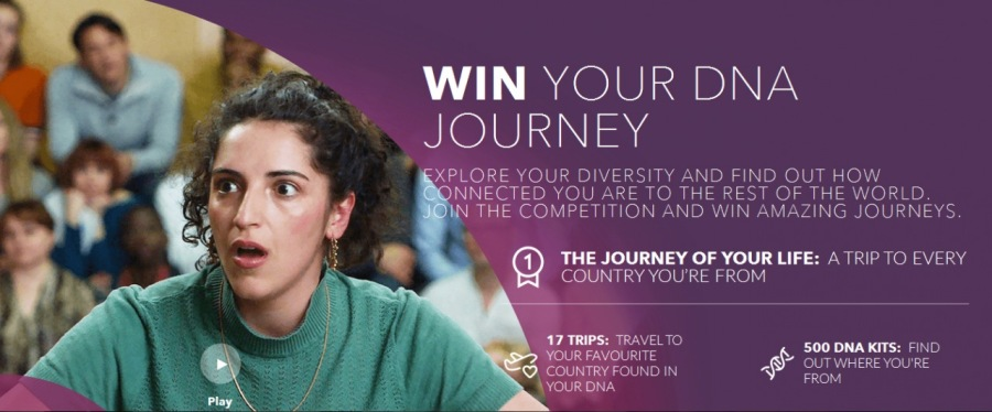4 WIN YOUR DNA » JOURNEY         THE JOURNEY OF YOUR LIFE: A THIF TO EVERY COUNTRY YOURE FROM